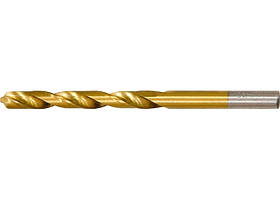 Сверло по металлу, 5,5 мм, HSS, нитридтитанове покрытие, цилиндрический хвостовик // MTX 7175509