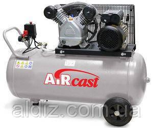 Компрессор поршневой, Aircast (СБ4/С-100.LB24А) 220в