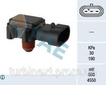 Датчик давления наддува Opel Combo 1.7DI/DTI 16V 01- FAE 15079