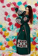 Платье женское с вышивкой СЖ 85