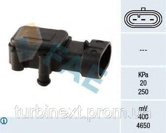 Датчик давления наддува Renault Kangoo 1.5DCi/Trafic 1.9DCi 01- FAE 15023