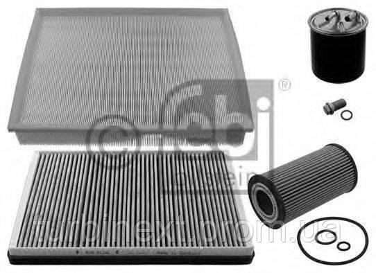 Комплект фільтрів FEBI BILSTEIN 39608 MB Sprinter 2.2 CDI OM646 06- (повітряний/олійний/паливний/салону кут.