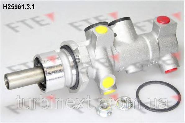 Циліндр гальмівний FTE H25961.3.1 (головний) Renault Master 98- (23.81/25.4 mm)