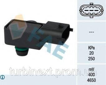 Датчик тиску наддуву Opel Astra G/H/Combo 1.7 CDTI 02 - FAE 15056