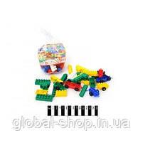 Конструктор МИКС-1 (102 элемента) арт. 4033, конструктор детский, игра, фото 2