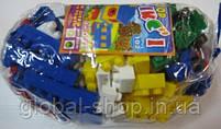 Конструктор МИКС-1 (102 элемента) арт. 4033, конструктор детский, игра, фото 5