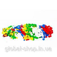 Конструктор МИКС-1 (102 элемента) арт. 4033, конструктор детский, игра, фото 6