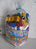 Конструктор МИКС-1 (102 элемента) арт. 4033, конструктор детский, игра, фото 4