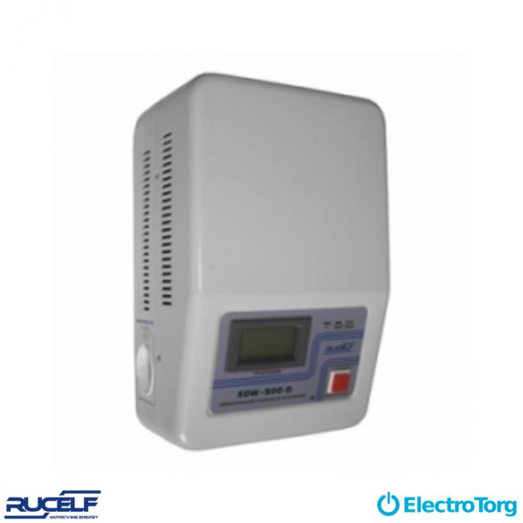 Стабилизаторы электромеханические 1-ф. (настенное исполнение, D-цифровая индикация) SDW-1000-D Rucelf