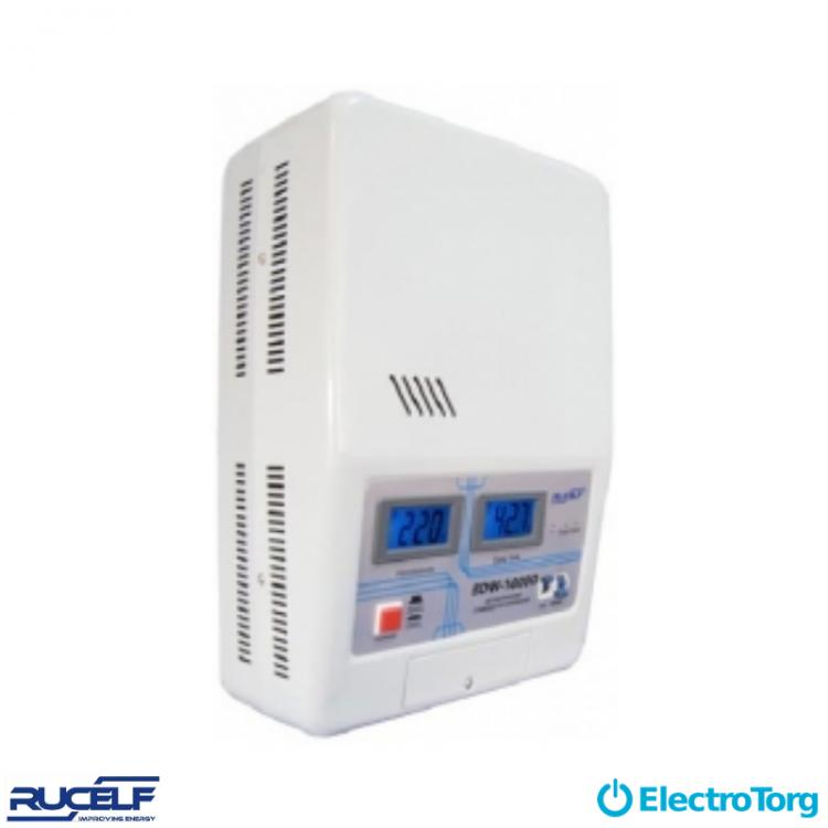Стабилизаторы электромеханические 1-ф. (настенное исполнение, D-цифровая индикация) SDW-10000-D Rucelf