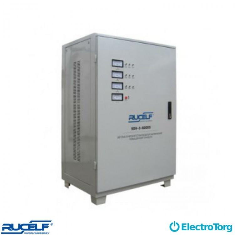 Стабилизаторы электромеханические 3-ф. (D-цифровая индикация) SDV-3-45000 Rucelf