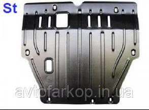 Захист радіатора Mitsubishi Pajero Wagon (1999-2006)(Захист радіатора Мітсубісі Паджеро Вагон) Полігон-Авто