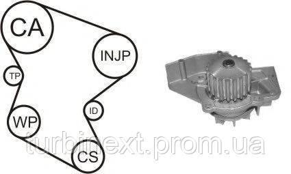 Комплект ГРМ AIRTEX WPK-1580R01 + помпа Fiat Scudo/Citroen Berlingo 1.9 D 98- (помпа 1580R)