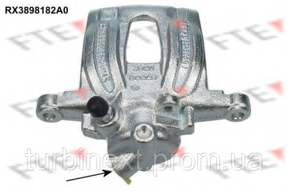 Суппорт тормозной FTE RX3898182A0 (задний) (R) MB Vito (W639) 03- (d=38mm) (Bosch)