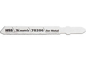 Полотна для электролобзика по металлу, 3 шт. T118G, 50 х 0.8мм, HSS // MTX PROFESSIONAL 782069