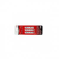 Полотна для электролобзика по металлу, 3 шт. T127D, 75 х 3 мм, HSS // MTX PROFESSIONAL 782089