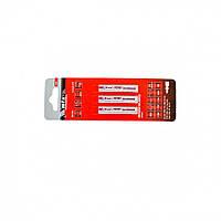 Полотна для электролобзика по металлу, 3 шт. T118AF, 55 х 1.2мм, Bimetal // MTX PROFESSIONAL 782099