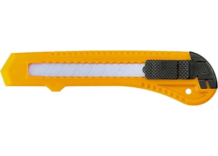 Нож, 18мм выдвижное лезвие // SPARTA 78974