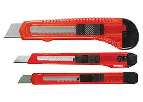 Набір ножів, висувні леза, 9-9-18 мм, 3 шт .// MTX