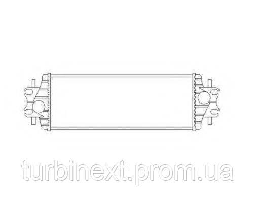 Радіатор інтеркулера NRF 30875 Renault Trafic 1.9/2.5 dCi 01-