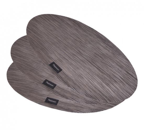 Комплект из 4-х сервировочных ковриков 45х30х0.2см полимеровый на обеденный стол Fissman