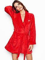 Плюшевый Халат Victoria's Secret красный, фото 1