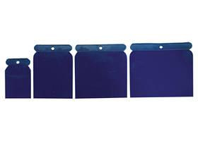 Набор шпателей японских пластмассовых, 50-75-100-120 мм, 4 шт .// SPARTA