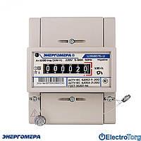 Однофазный однотарифный электросчетчик ЦЭ 6807Б-U K 1,0 220В 5-60А М6Р5  Энергомера