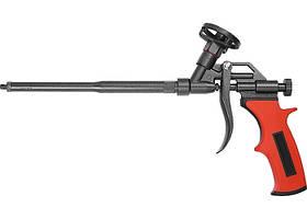 Пістолет для монтажної піни, тефлонове покриття, двокомпонентна ручка // MTX