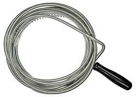 Трос для прочистки труб, L - 3 м, D - 6 мм // СИБРТЕХ