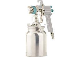 Фарборозпилювач AS 702 НР професійний, всмоктувального типу, сопло 1,8 мм і 2,0 мм
