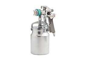 Фарборозпилювач AS 802 HVLP, професійний, всмоктувального типу, сопло 1,4 мм // Stels