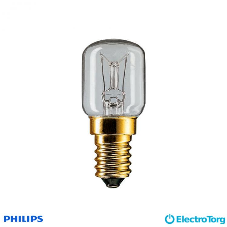 Лампа накаливания App 25W E14 230-240V T25 CL OV 1CT Philips