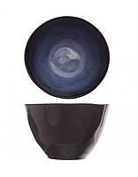 Салатник - 10 х 6,5 см, Черный /Синий (Cosy&Trendy) Sapphire