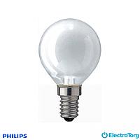Лампа накаливания Kryp 40W E14 230V P45 WH 1CT/10X10F Philips