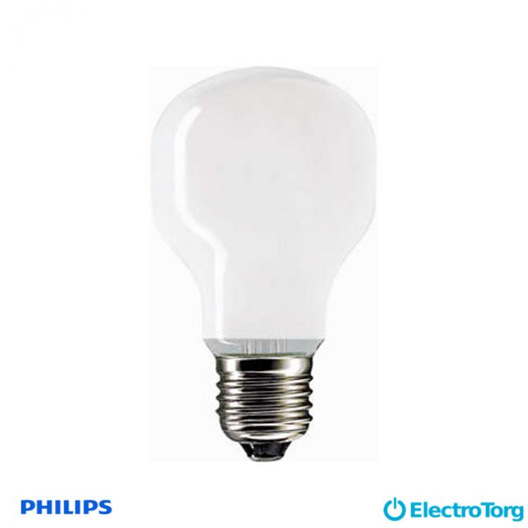 Лампа накаливания Soft 75W E27 230V T55 WH 1CT/24X5F Philips