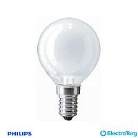 Лампа накаливания Stan 40W E14 230V P45 FR 1CT/10X10F Philips