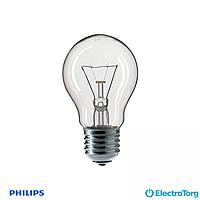 Лампа накаливания Stan 40W E27 230V A55 CL 1CT/12X10F Philips