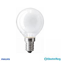 Лампа накаливания Stan 60W E14 230V P45 FR 1CT/10X10F Philips