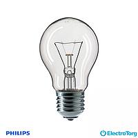 Лампа накаливания Stan 60W E27 230V A55 CL 1CT/12X10F Philips