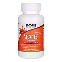 NOW Eve women's multiple (120 caps)  витамины для женщин Ева