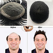 Мужские парики из натуральных волос