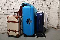 Сравнение пластиковых и тканевых чемоданов на колесах