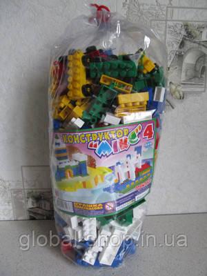 Конструктор Микс-4 (444 детали)