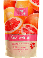 Крем-мыло дой-пак с увлажняющим молочком (Грейпфрут) - Fresh Juice Cream-Soap Grapefruit 460ml