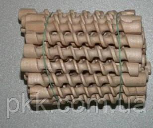 Спіраль коротка деревяна Бігуді
