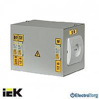 Ящик с понижающим трансформатором ЯТП-0,25 (3 автомата) 380В 42В УХЛ4 IP30 ИЭК(IEK)