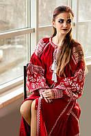 Платье женское с вышивкой СЖ 871-17