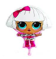 """Фольгированный шар """"Кукла Лол"""" 60х52 см"""