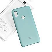Силиконовый чехол на Xiaomi Redmi Note 6 Pro Soft-touch Mint